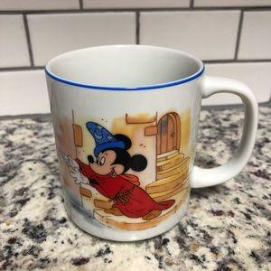 Vintage Disney Mickey Mouse Mug